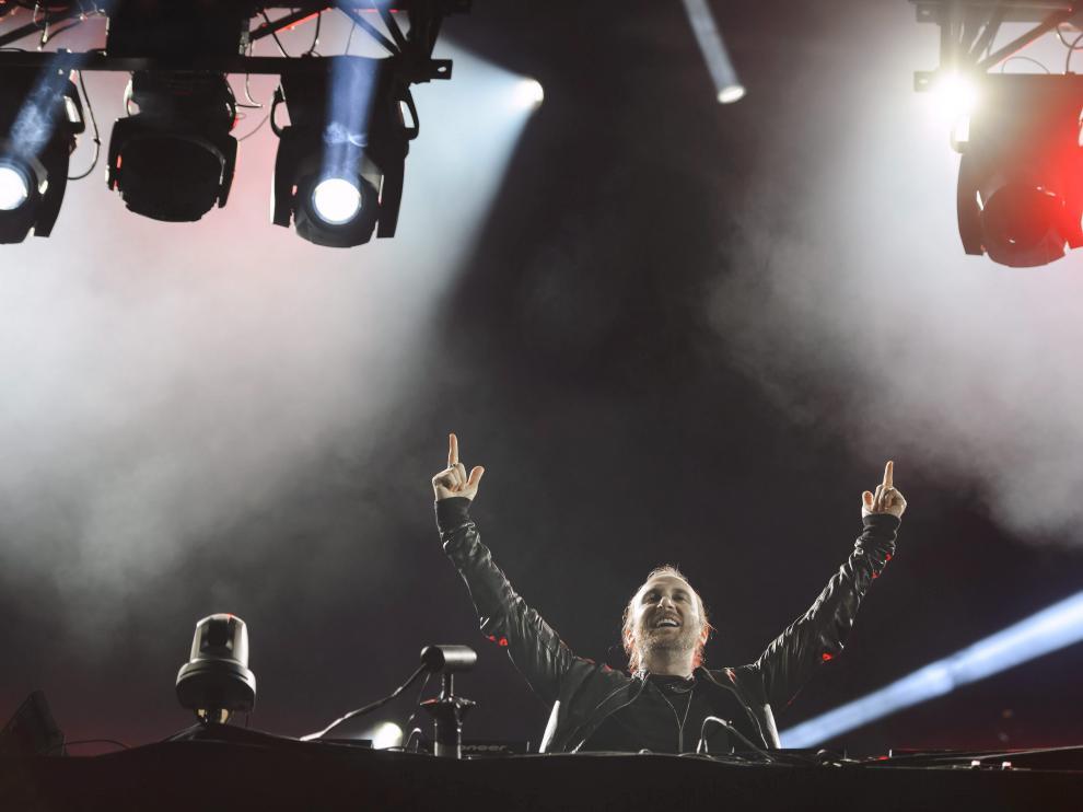 David Guetta en una foto de archivo