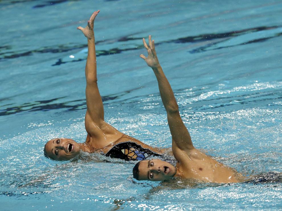 La pareja española de Gemma Mengual y Pau Ribes finalizó en la quinta posición del novedoso dúo mixto.