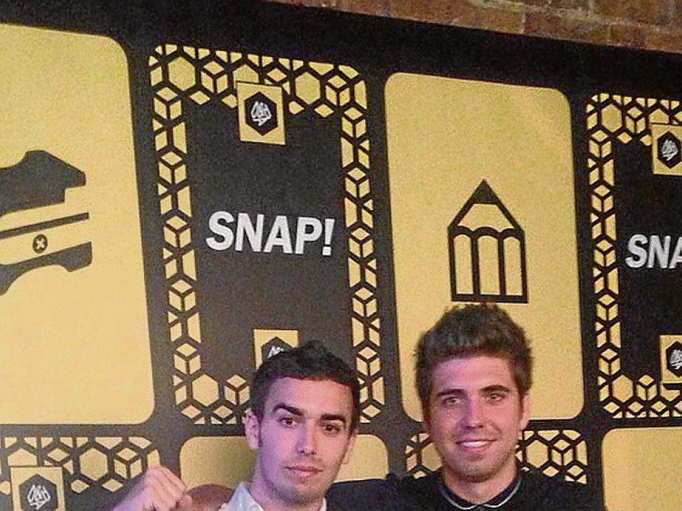 Enrique Torguet y Manu Castillo.