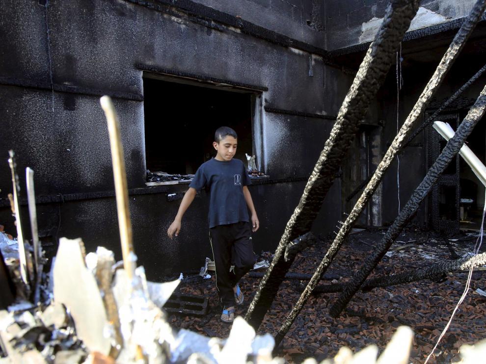 Un bebé palestino muere en el incendio de su casa provocado por colonos israelíes