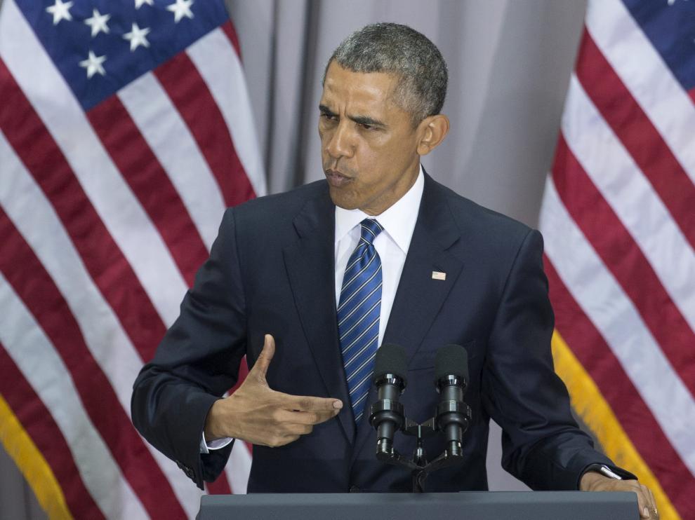 Barack Obama en una foto de archivo.
