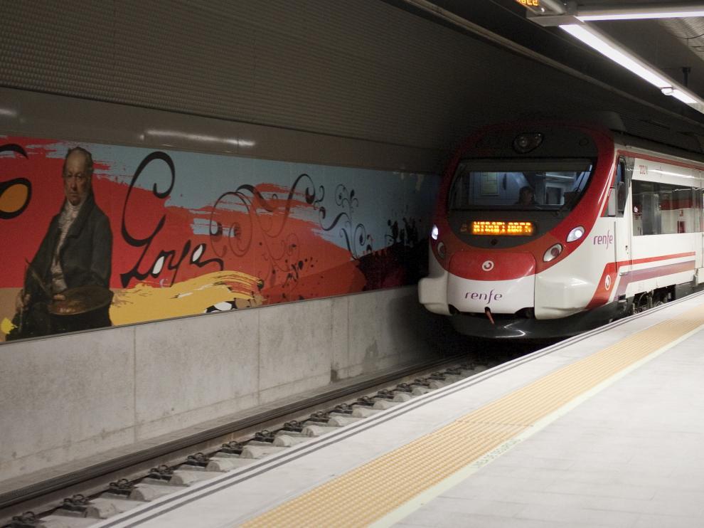 Estación de Cercanías de Goya