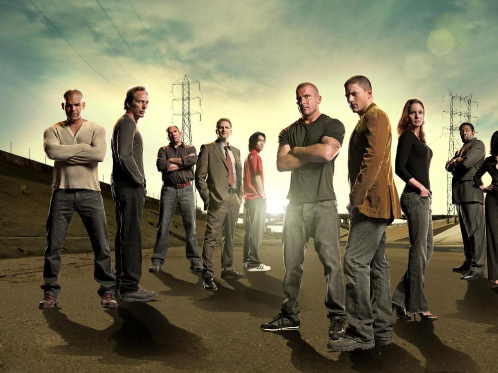 Los protagonistas de la última temporada de 'Prison Break'.