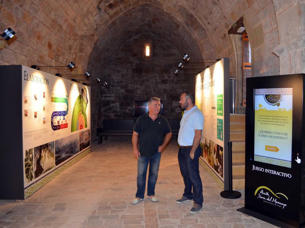 El museo del aceite ha abierto sus puertas este fin de semana.