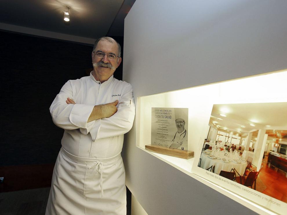 El chef Pedro Subijana, propietario del restaurante Akelarre (en el monte Igeldo), que cuenta con tres estrellas Michelin).