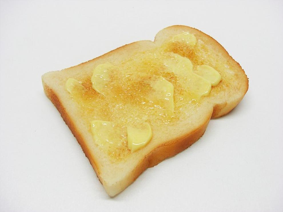 Las grasas saturadas provienen principalmente de productos de origen animal, como la mantequilla.