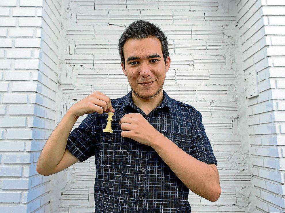 Daniel Forcén, de 21 años, ha llegado a la distinción más alta del ajedrez.