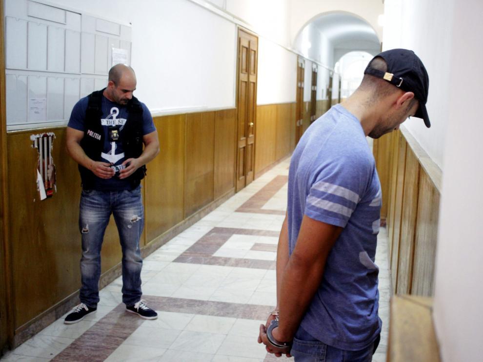 Sergio Morate durante su detención. Foto de archivo.