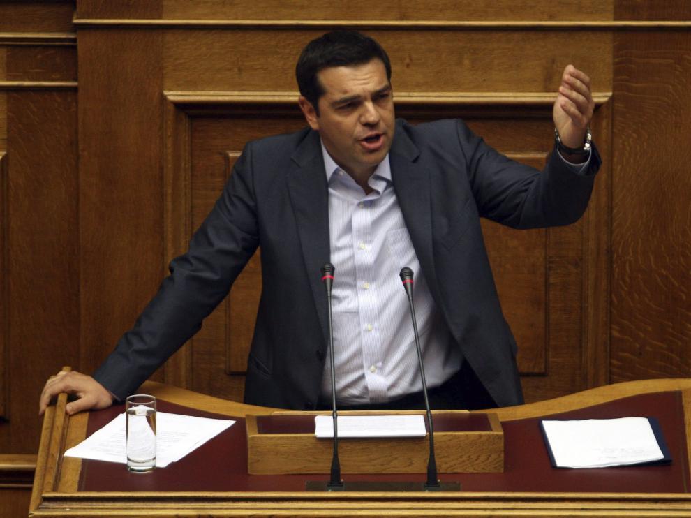 El primer ministro griegos, Alexis Tsipras.