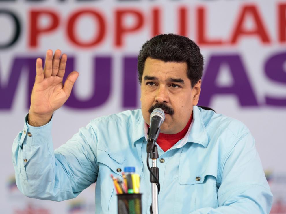 Maduro en una foto de archivo.