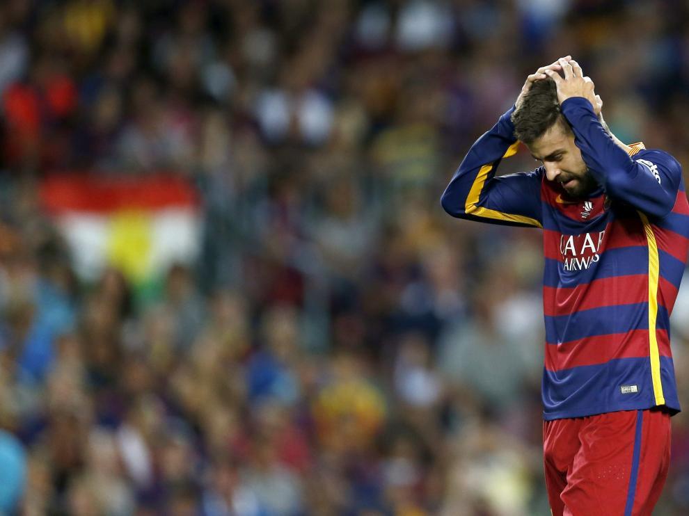 El defensa del FC Barcelona Gerard Piqué.