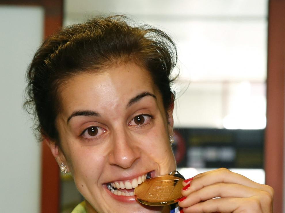 Carolina Marín, campeona mundial de Badminton