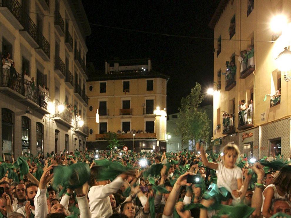 Fiestas de San Lorenzo.