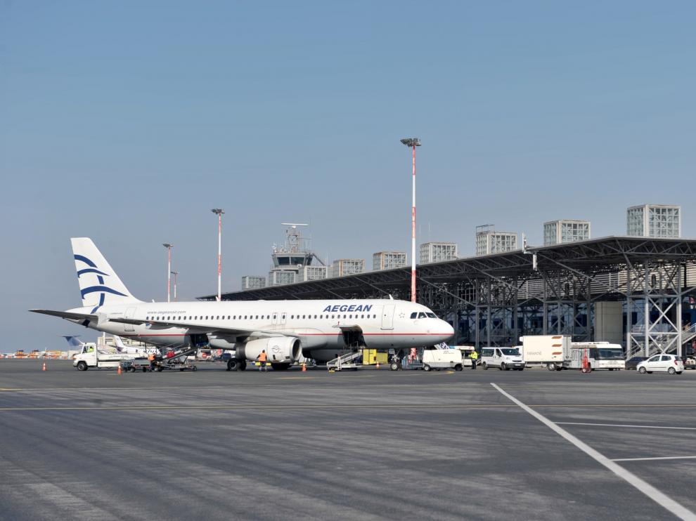 El Aeropuerto Internacional de Thessaloniki, uno de los privatizados.