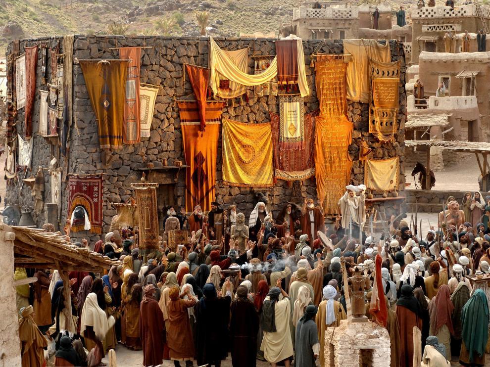 Fotograma de la película 'Mahoma, el mensajero de Dios'.
