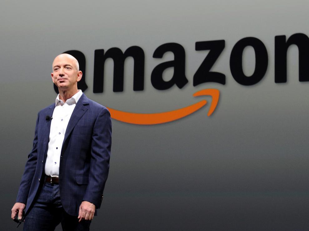 Jeff Bezos, fundador y jefe de Aamzon