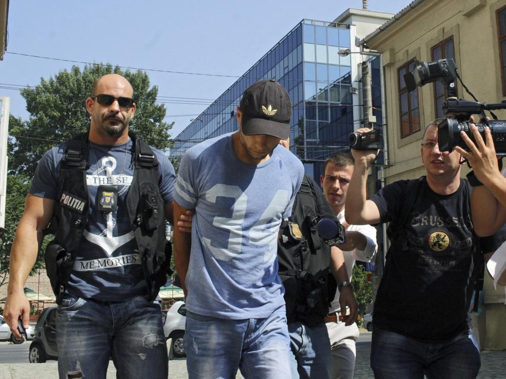 Morate, custodiado por la Policía rumana tras su detención