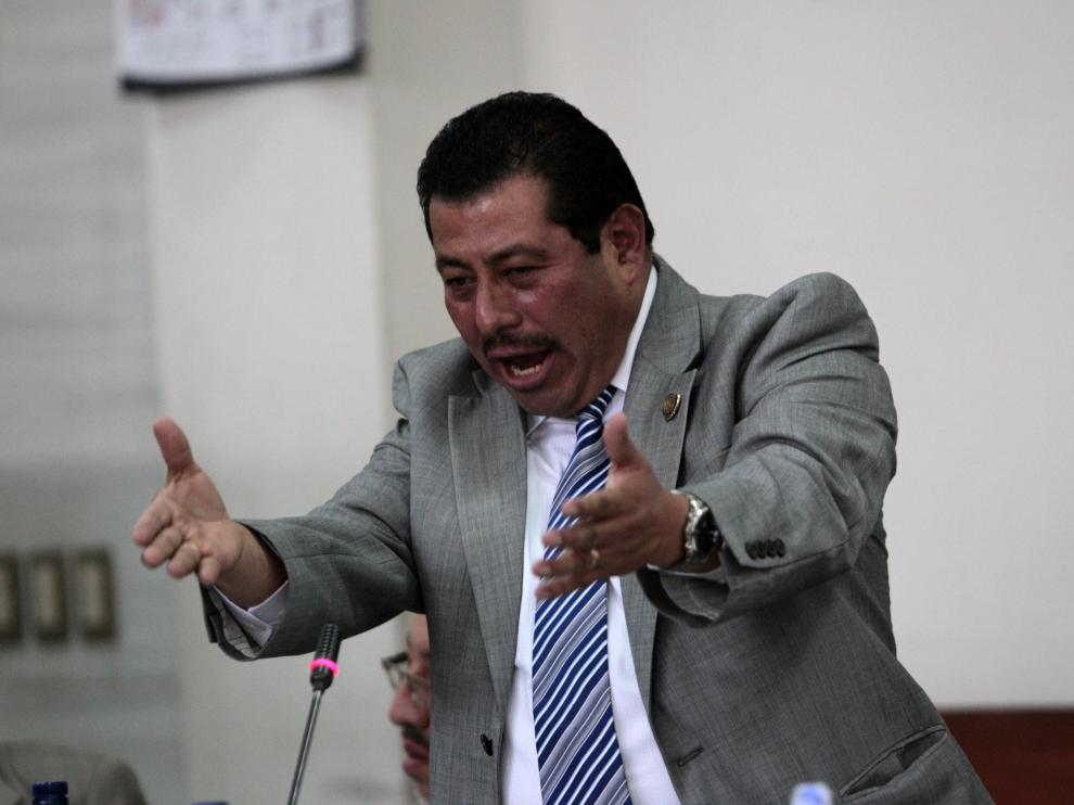 Jaime Hernández, abogado del dictador.