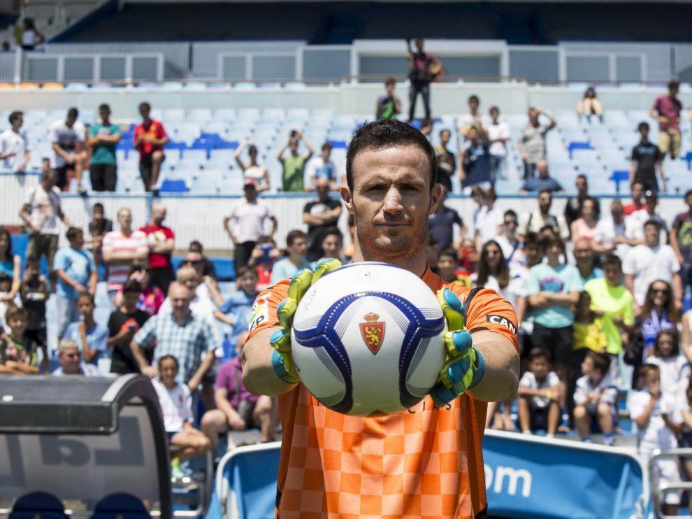 Manu Herrera avanza en la recuperación de su lesión