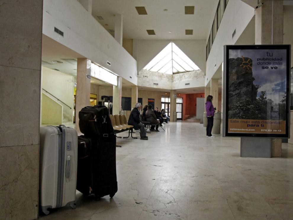 Fotografía de la estación de autobuses de Soria de marzo del año pasado.
