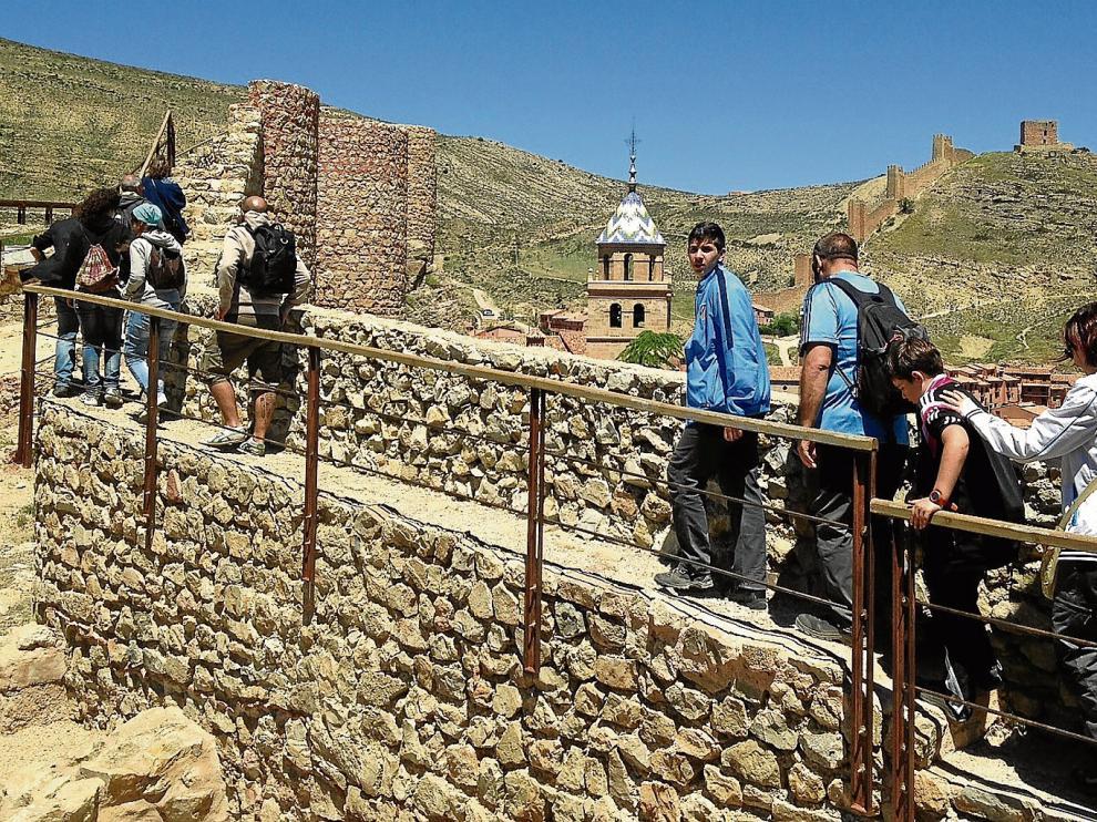 El rodaje de la película americana puede complementar los importantes recursos que ya se generan en Albarracín con el turismo.