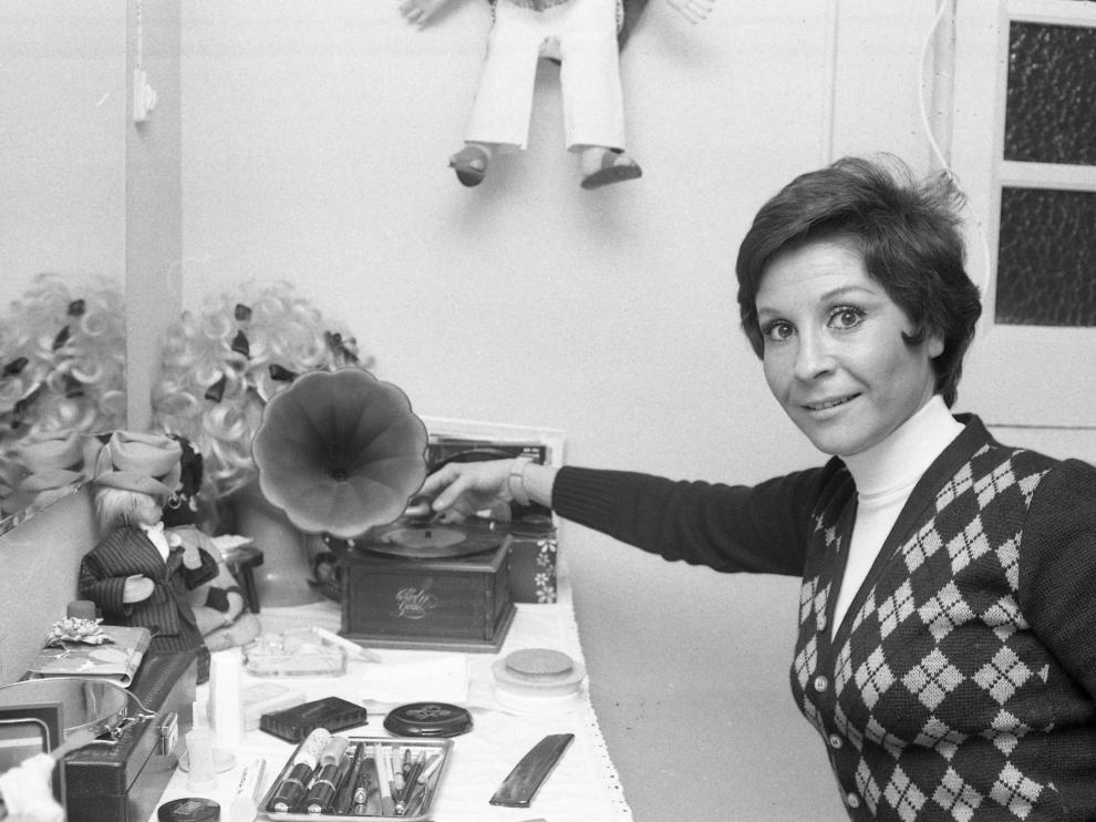 Lina Morgan en una imagen de archivo.