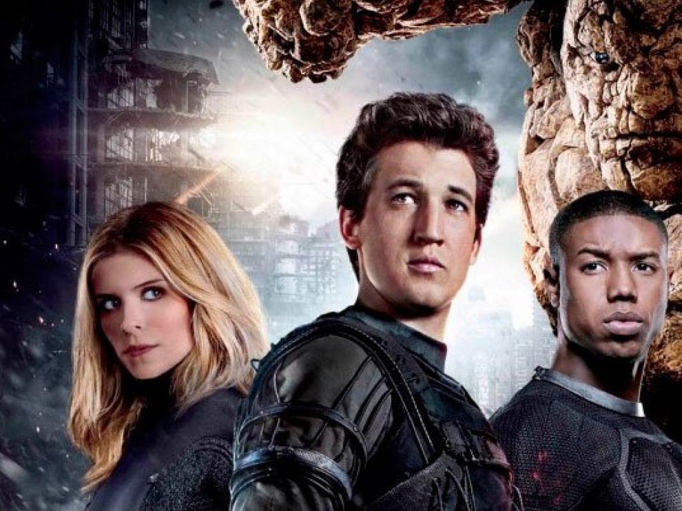 Imagen promocional de la nueva entrega de los 'Cuatro Fantásticos'