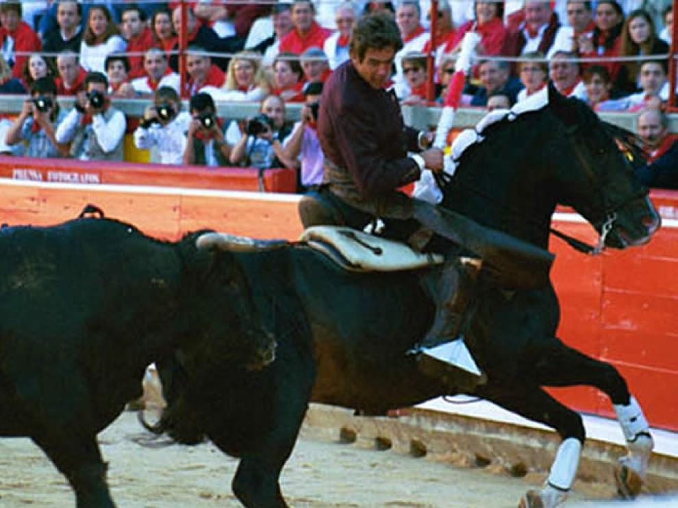 Cagancho, el caballo de Hermoso de Mendoza