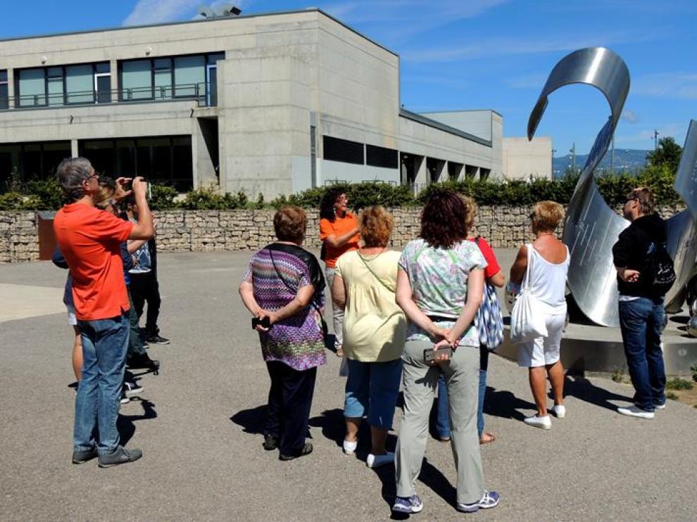 En la foto, una de las visitas realizadas la última semana al parque de la Universidad.