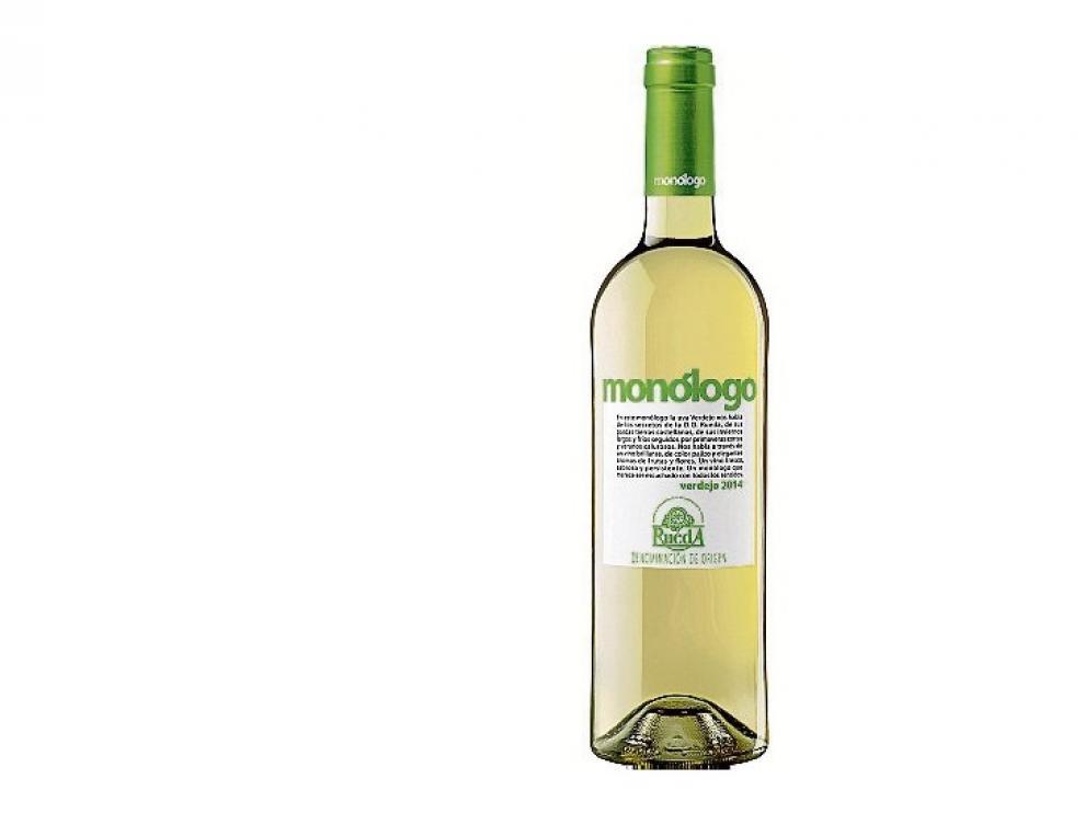 El Monólogo Verdejo es un vino blanco fresco destinado a un público informal.