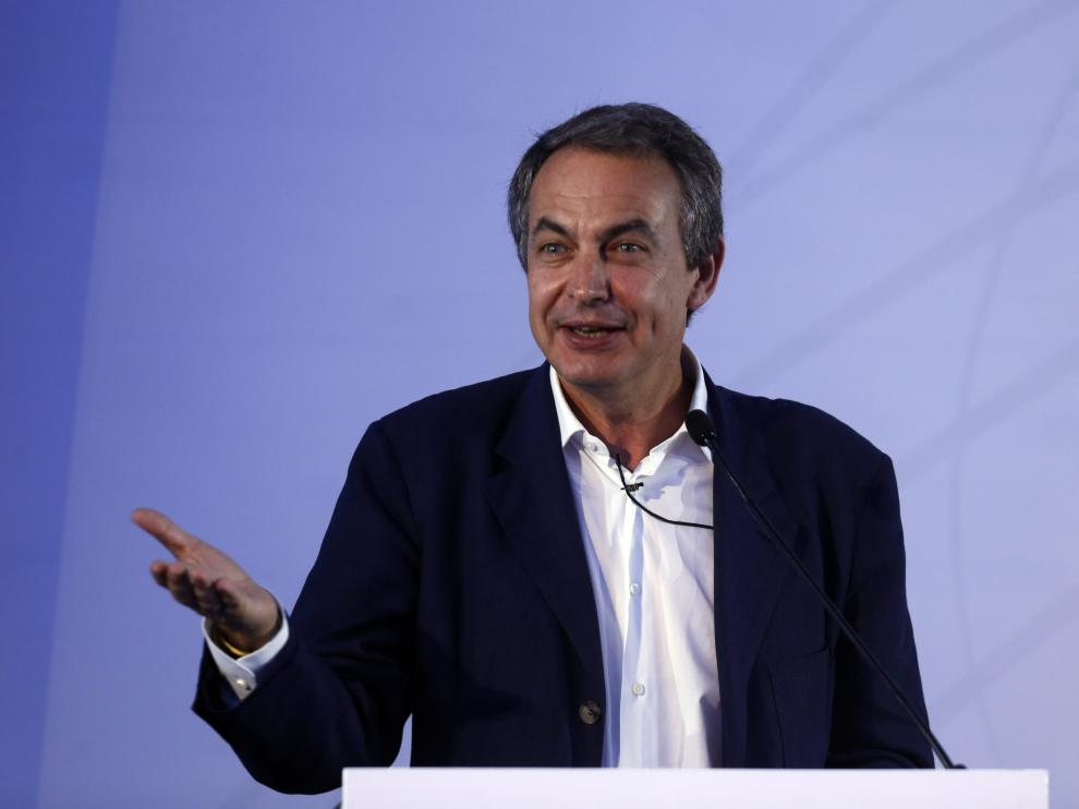 El expresidente del Gobierno español José Luis Rodríguez Zapatero