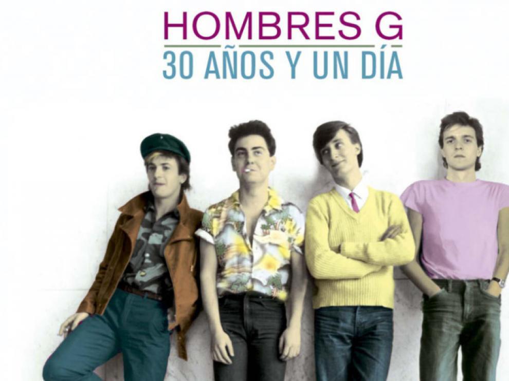 La gira de Hombres G por su 30 aniversario pasa por Zaragoza estas Fiestas del Pilar 2015