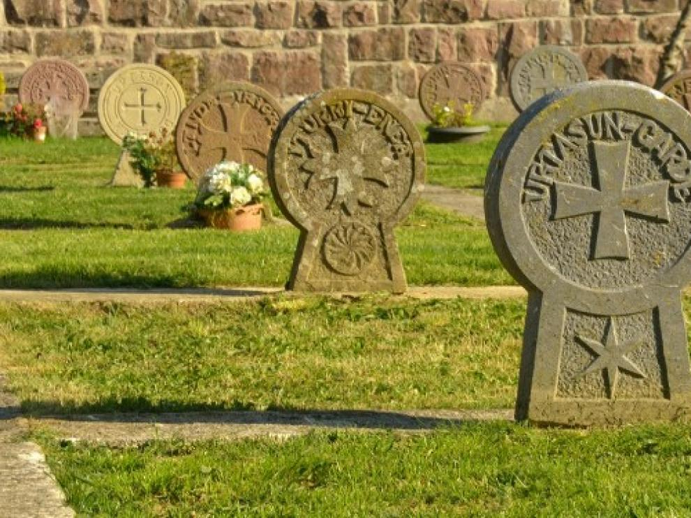 El cementerio de Burguete