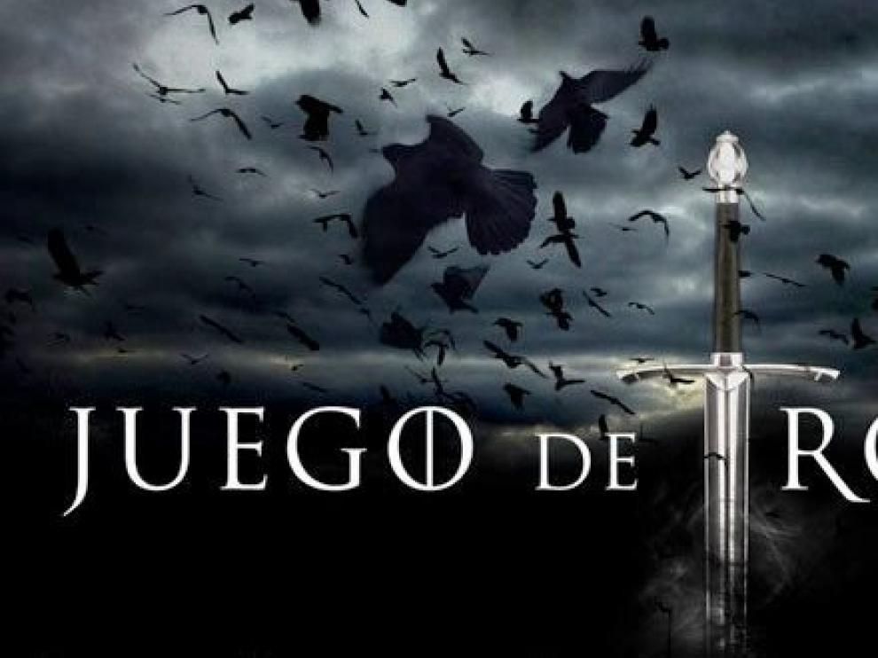 Logo de la serie 'Juego de tronos'