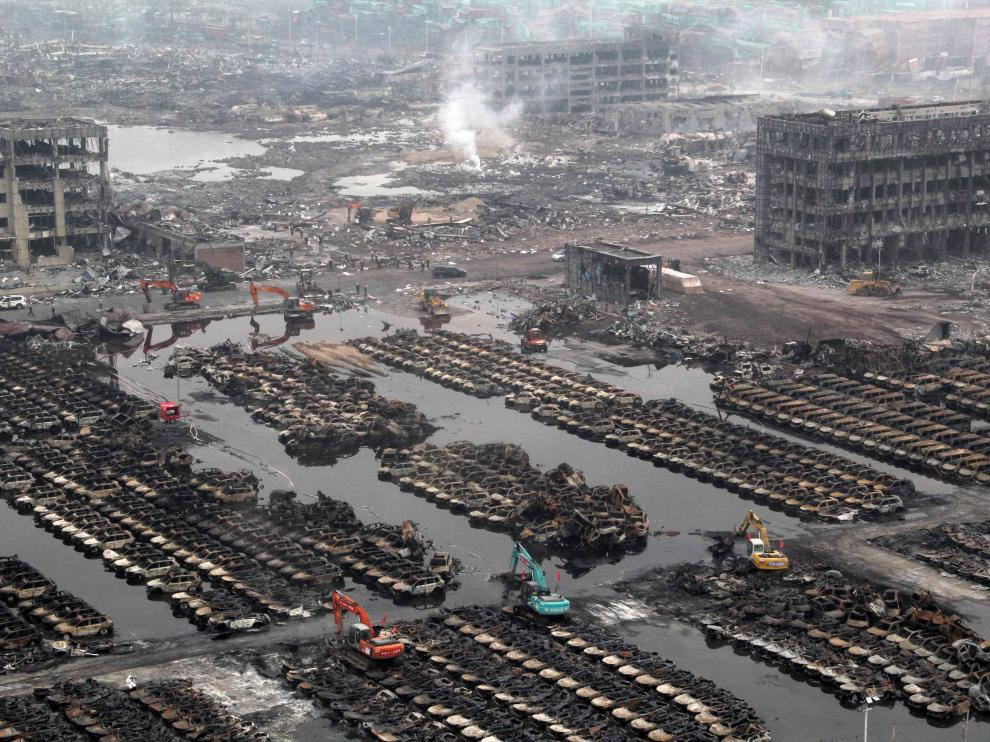 Puerto chino de Tianjin