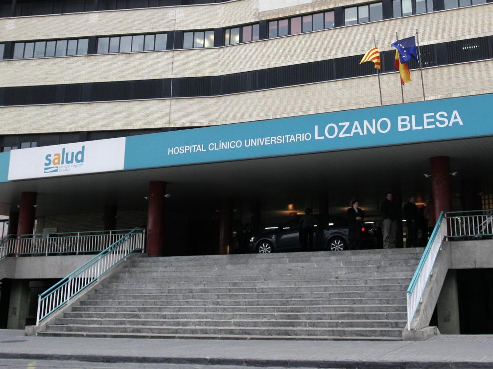 El herido permanece ingresado en el hospital Clínico de Zaragoza.