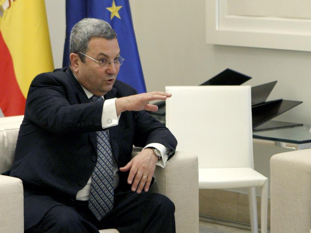 El ex primer ministro israelí Barak