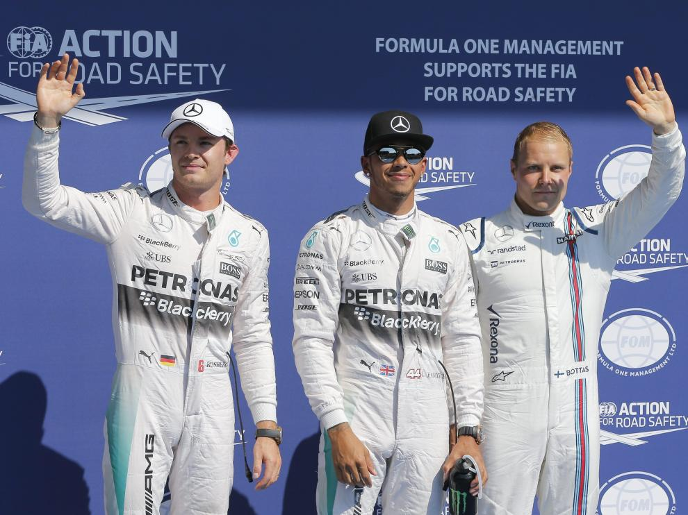 Hamilton logra la décima 'pole' de este año, Sainz es décimo y Alonso último