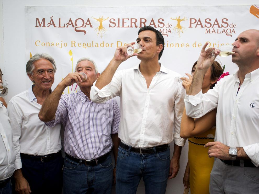?Pedro Sánchez ha visitado la Feria de Málaga