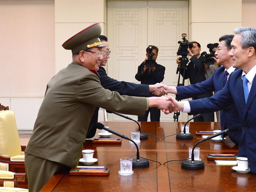 La cita fue propuesta inicialmente por Corea del Norte en una aparente muestra de la voluntad del país comunista de evitar una escalada mayor de violencia.