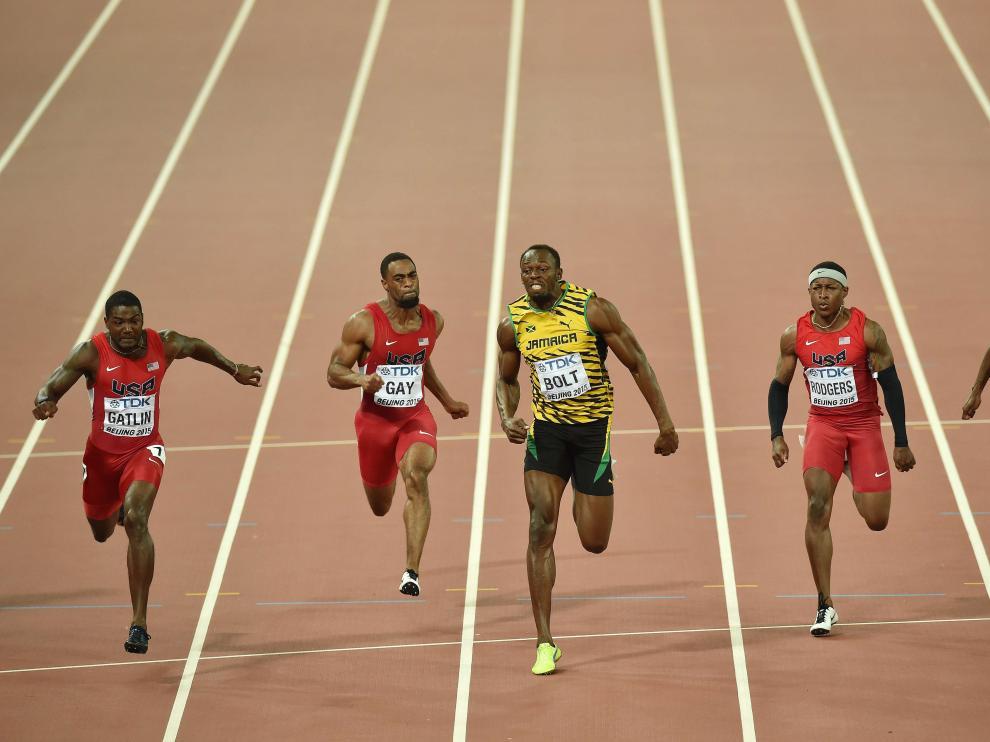 ?Usain Bolt gana la final de los 100 metros