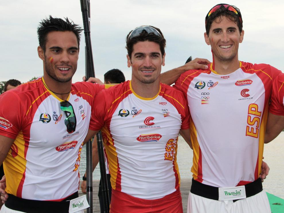 Los integrantes del K-4 1.000 español se han clasificado para los Juegos Olímpicos de 2016.