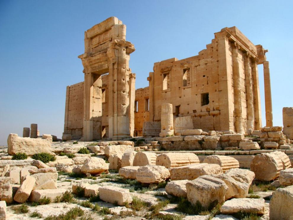 Otra joya perdida de Palmira, el templo de Baal