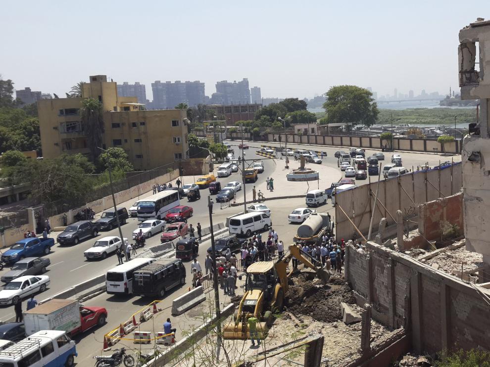 El atentado se registró en la zona de Qanater Edfeina, cerca de la localidad de Roseta.