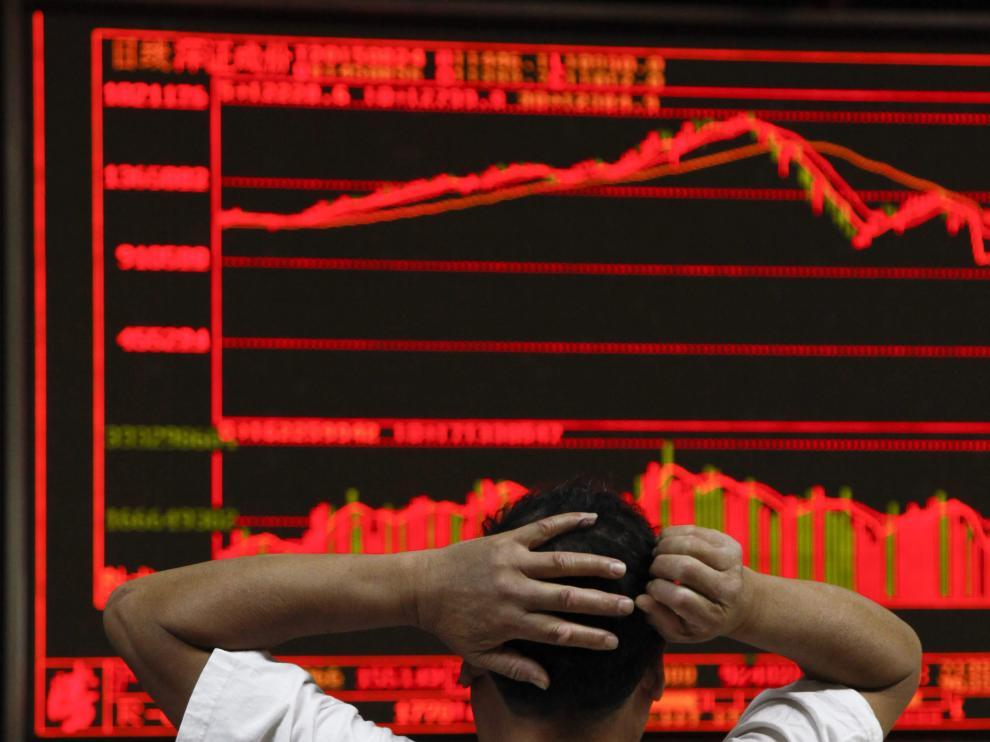 La Bolsa de Shanghai se dejó más de un 8%