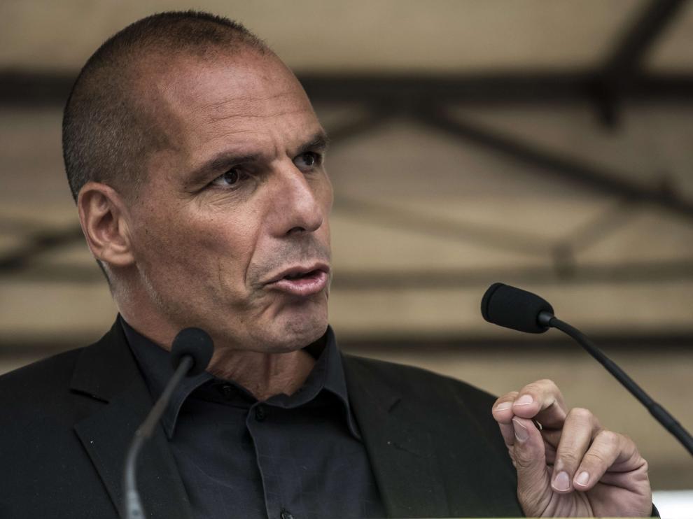 El exministro de Finanzas griego Yanis Varufakis.