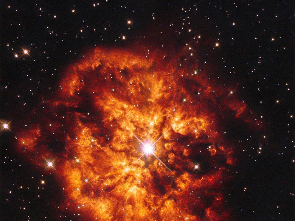 Imagen captada por el telescopio Hubble
