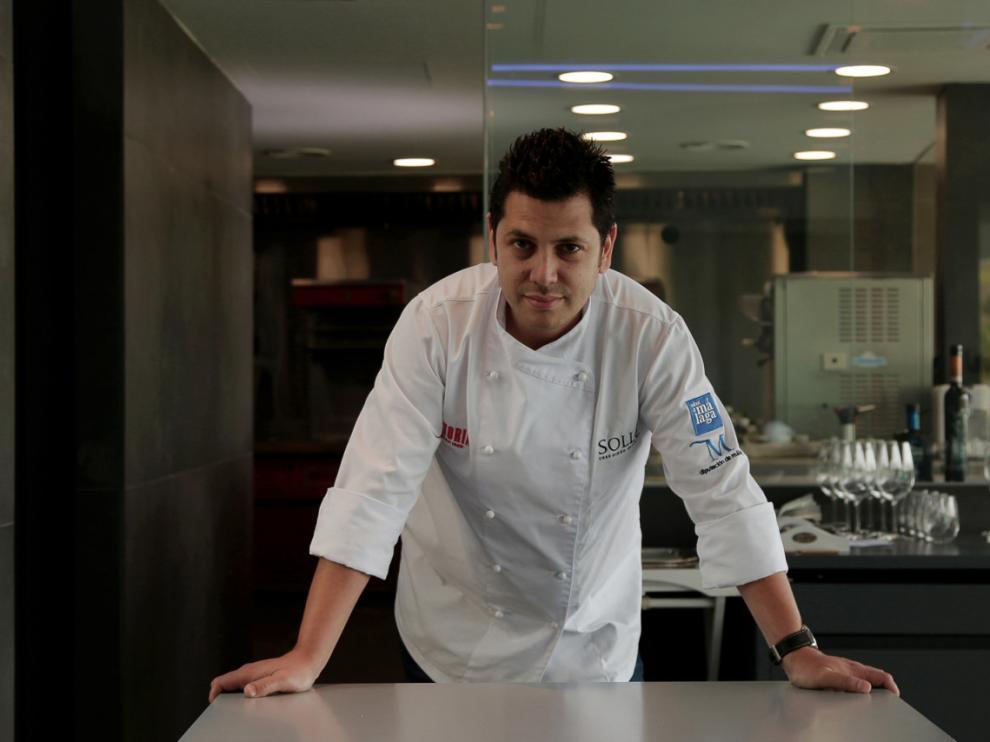 El chef Diego Gallegos fue elegido Cocinero Revelación 2015 en el congreso gastronómico Madrid Fusión.
