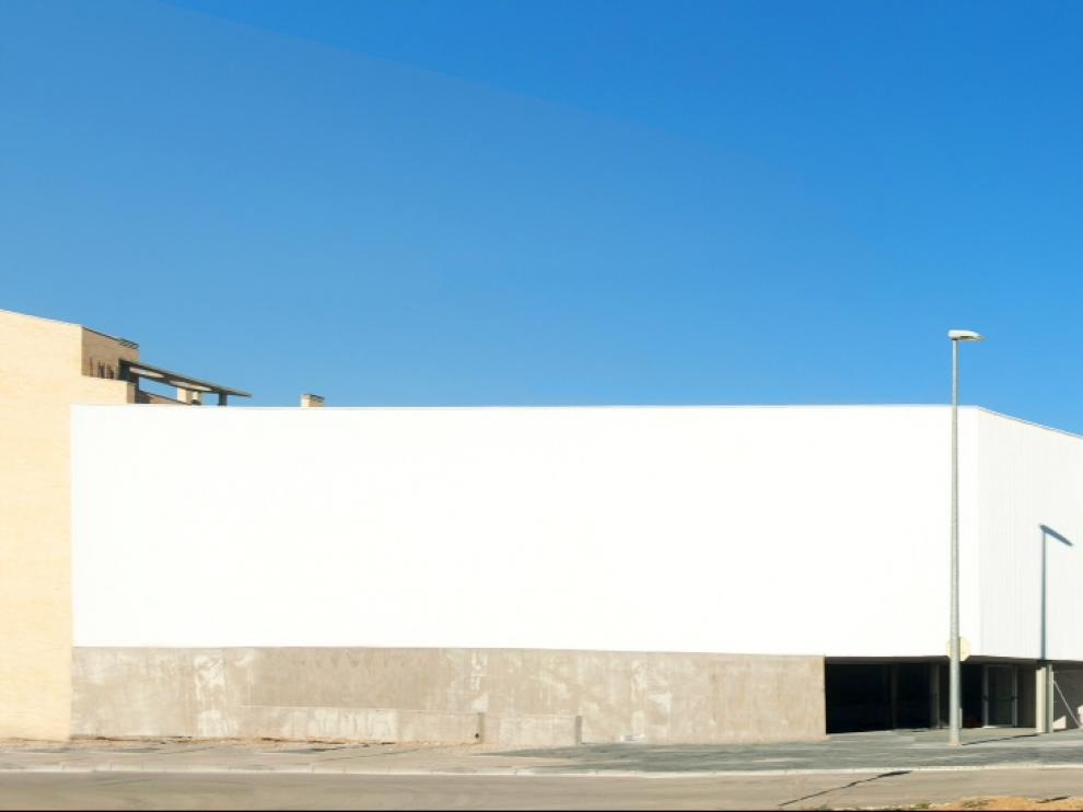 Imagen del colegio Ánfora tomada antes de la jornada de puertas abiertas.