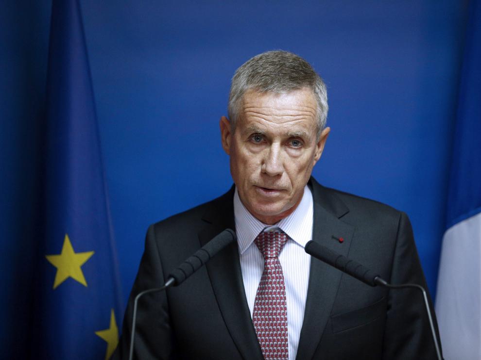 El fiscal de París, François Molins, ofreció una rueda de prensa en el Palacio de Justicia de París.